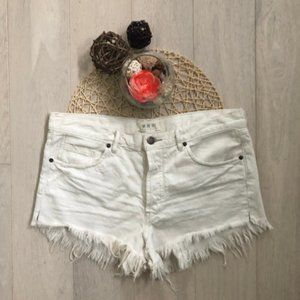 NWOT Free People Distressed Cutoff Shorts Size 30